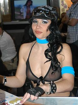 Rebeca Linares at AEE 2007 Wednesday.jpg