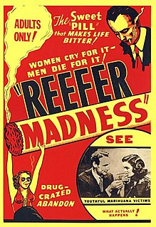 <i>Reefer Madness</i> 1936 film by Louis J. Gasnier about marijuana