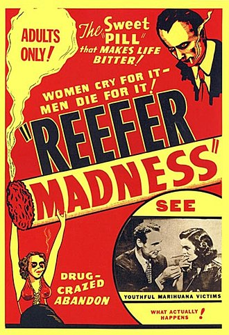 Reefer Madness - 1972 theatrical release poster