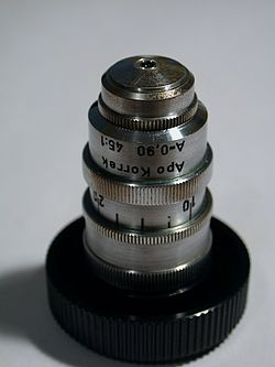 Obiektyw mikroskopu