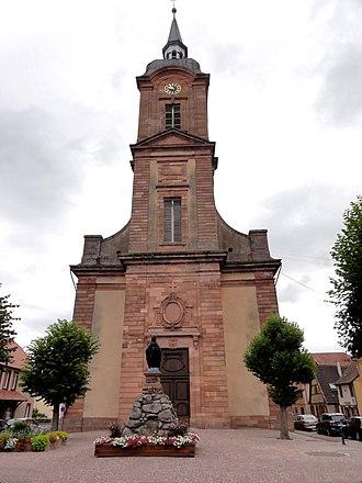 Église Saint-Michel de Reichshoffen - Église Saint-Michel de Reichshoffen