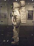 Replica Apollo spacesuit left 2014 Exhibit at Chemical Heritage Foundation DSCF0487.jpg