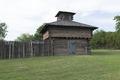 Replica of Fort Inglish in Bonham, Texas LCCN2015630033.tif