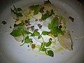Restaurant Noma Kammuslinger med blomkål og ukrudt (5622151889).jpg