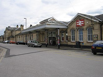 Retford railway station - The station in 2005