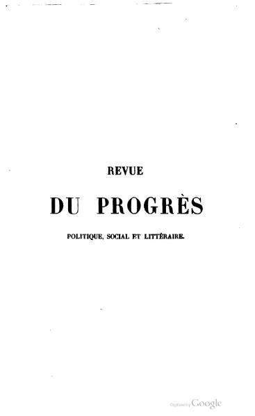 File:Revue du progrès - 1841 - vol5.djvu