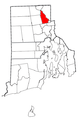 Rhode Island Municipalities Lincoln Highlighted.png