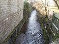 Rhydwaedlyd Brook, Rhiwbina, Cardiff - geograph.org.uk - 1717110.jpg