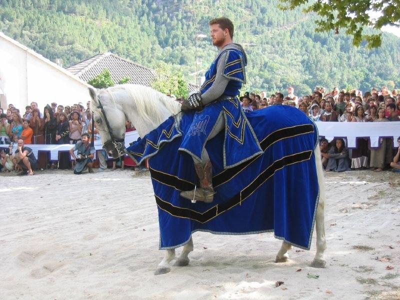 Ribadavia medieval cabalo cabaleiro