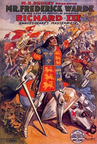 Richard III (1912 film) - Image: Richard III 1912 Poster