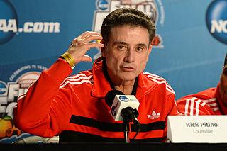 Rick Pitino American basketball coach