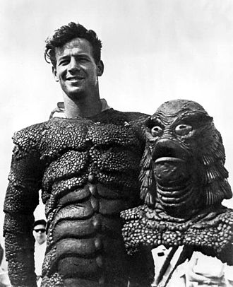 "Creature from the Black Lagoon - Ricou Browning played the ""Gill Man"" in the underwater scenes of Creature from the Black Lagoon (1954), Revenge of the Creature (1955), and The Creature Walks Among Us (1956)."