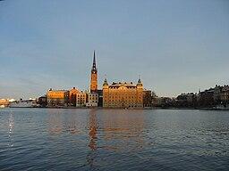 Kammarrättens byggnader på Riddarholmen: Gamla riksdagshuset och Hebbeska huset