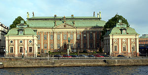 House of Nobility (Sweden) - Image: Riddarhuset Stockholm Sweden