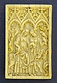 Ride to falcon hunting, Northern France, 1325-1350, ivory - Germanisches Nationalmuseum - Nuremberg, Germany - DSC03664.jpg