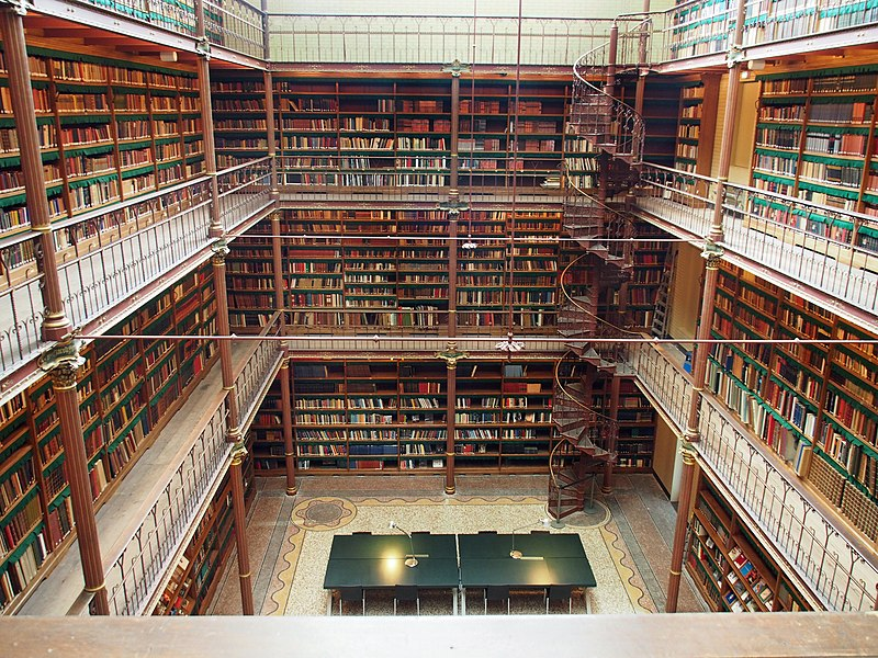 Bestand:Rijksmuseum Research Library (1).jpg