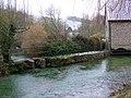 River Cerne, Godmanstone Mill - geograph.org.uk - 1157037.jpg