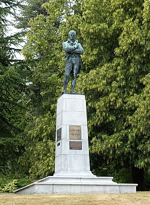 Robert Burns Memorial, Stanley Park - The memorial in 2015
