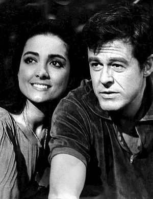 Kamala Devi (actress) - Devi with Robert Culp in I Spy, 1966.