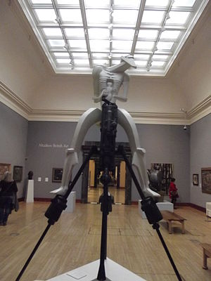 Rock Drill (Jacob Epstein) - The 1974 reproduction, at Birmingham