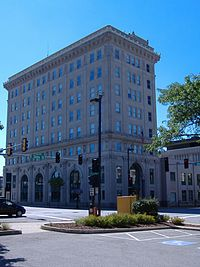 City Hall in Rockford, Illinois.