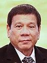 Rodrigo Duterte and Laotian President Bounnhang Vorachith (cropped)
