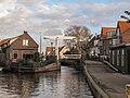Roelofarendsveen, straatzicht met brugje 2009-10-25 15.56.JPG