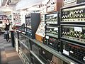 Roland Space Echo, Chorus Echo, Compu Rhythm, Analogue Systems modular synthesizer, etc. & Sayaka, @ Five G music technology, Harajuku - 2010-09-03 (by j bizzie).jpg