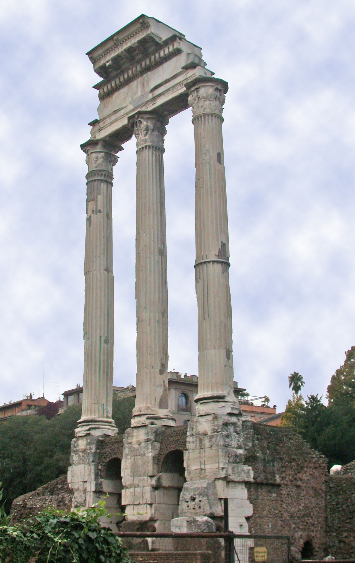 Temple of Castor and Pollux - Wikipedia