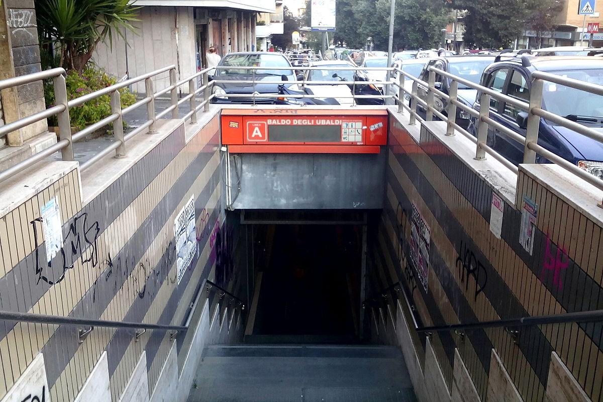Baldo degli ubaldi metropolitana di roma wikipedia - Metro porta furba roma ...