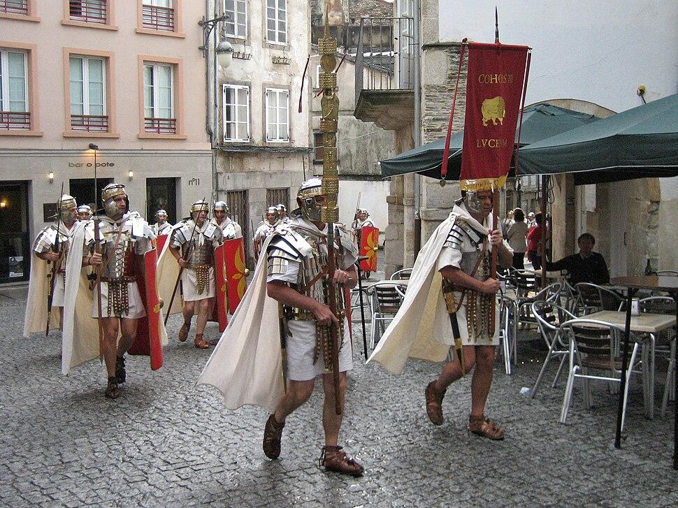 Roman festival of Arde Lucus, Lugo
