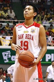 Rome dela Rosa Filipino basketball player