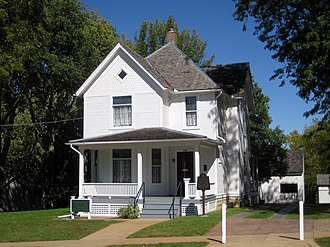 Ronald Reagan - Ronald Reagan's boyhood home in Dixon, Illinois