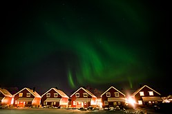 Northern lights above Bodo