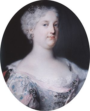 Elisabeth Christine of Brunswick-Wolfenbüttel - Portrait of Empress Elisabeth Christine (by Rosalba Carriera, 1730)
