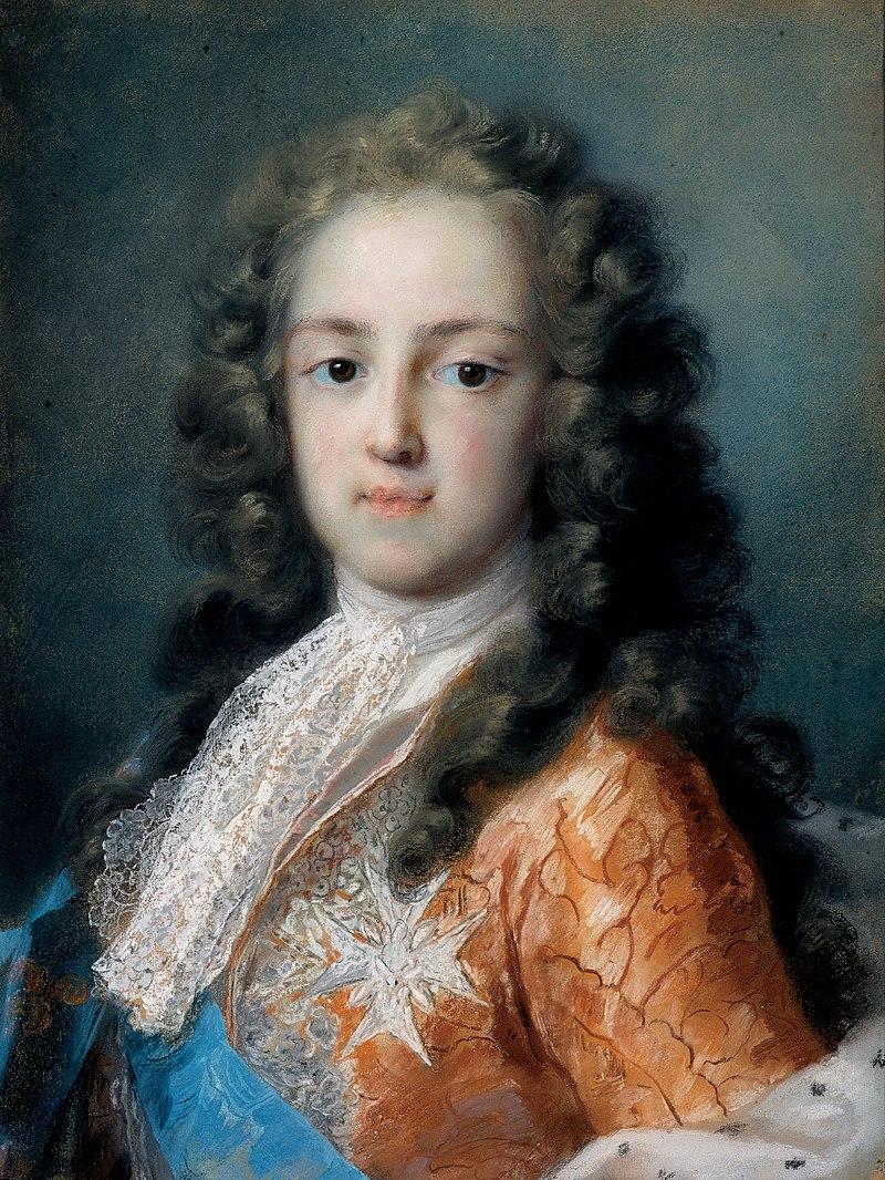 Розальба Каррьера - Людовика XV из Франции, а Дофин (1720-1721) - Погуглите искусства Project.jpg