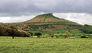 Roseberry Topping, one of the most enduring symbols of ancient Cleveland.