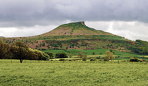 Cleveland, England - Roseberry Topping, one of the most enduring symbols of ancient Cleveland.