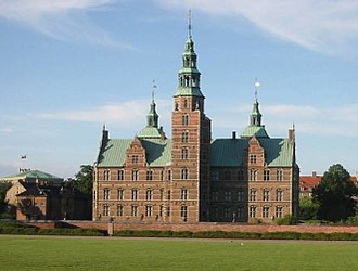 Rosenborg Castle - Rosenborg Castle seen from the Castle Gardens