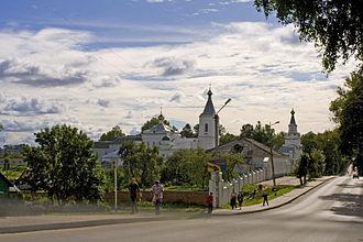 Roslavl - Image: Roslavl monastery