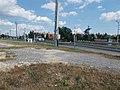 Route 85 level crossing, Hegyeshalom–Szombathely railway line, 2019 Csorna.jpg