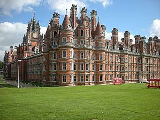 Royal Holloway, University of London - The Founders building, Egham