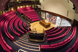 Royal Institution - The Royal Institution Lecture Theatre. Here Michael Faraday first demonstrated electromagnetism