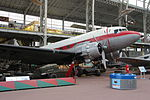 Royal Military Museum, Brussels - Douglas DC-3 (11448853694).jpg