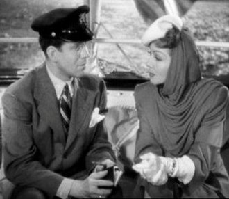 The Palm Beach Story - Rudy Vallée and Claudette Colbert