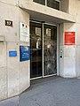 Rue Rabelais (Lyon) - entrée d'un bâtiment pompiers.jpg