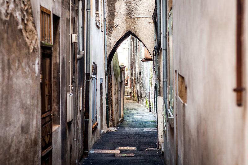 File:Rue Sauge.jpg Фотографии Вьена - достопримечательности Вьена в картинках, что посмотреть во Вьене, виды Вьена