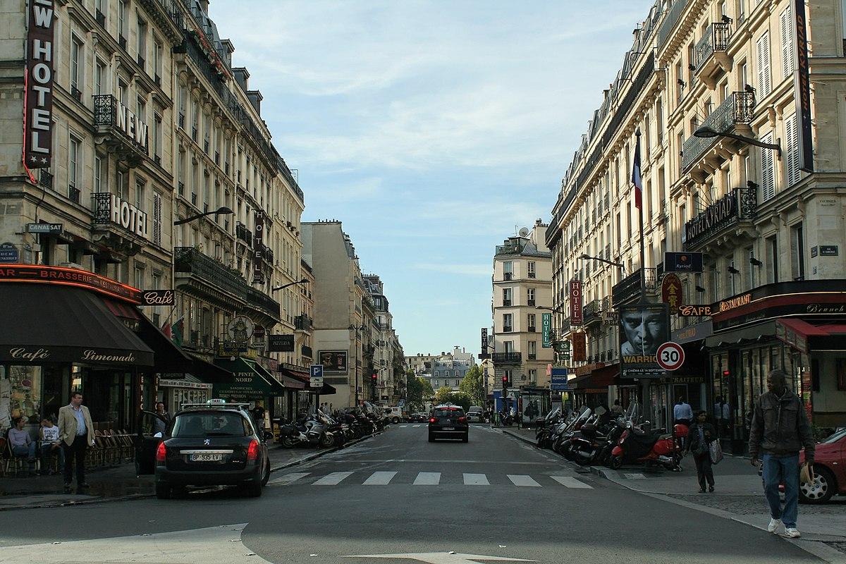Rue de saint quentin wikip dia for Babou st quentin