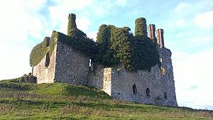 Carbury - Carbury Castle Ruins, County Kildare, Republic of Ireland
