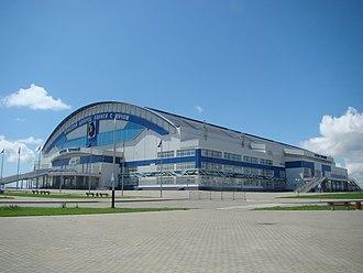2018 Bandy World Championship - Image: Russia. Khabarovsk. Arena Yerofey 2016